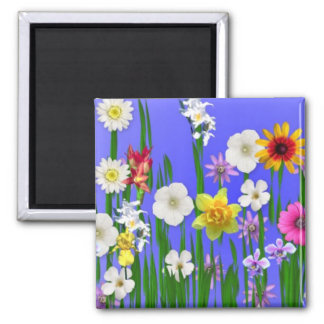 Think Spring 2 Inch Square Magnet