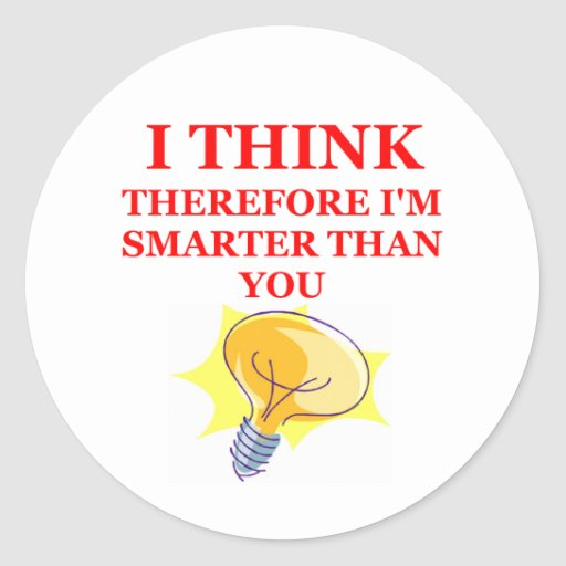 THINK STICKERS