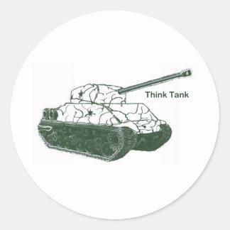 Think Tank Classic Round Sticker