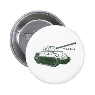 Think Tank Pinback Button