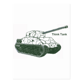 Think Tank Postcard