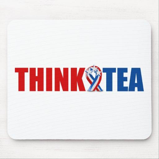 Think Tea Mouse Pad