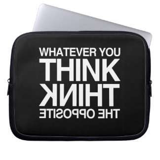 THINK THE OPPOSITE LAPTOP COMPUTER SLEEVES