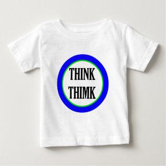 Think Thimk Baby T-Shirt