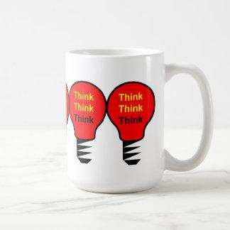 Think, Think, Think Coffee Mug