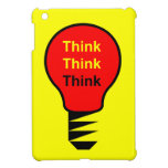 Think, Think, Think iPad Mini Covers