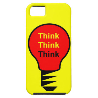 Think, Think, think iPhone SE/5/5s Case