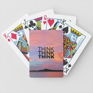 Think Think Think Playing Cards
