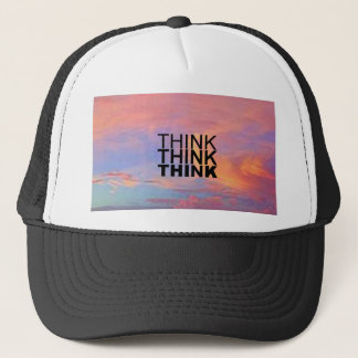 Think Think Think Trucker Hat