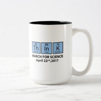 THINK Two-Tone COFFEE MUG