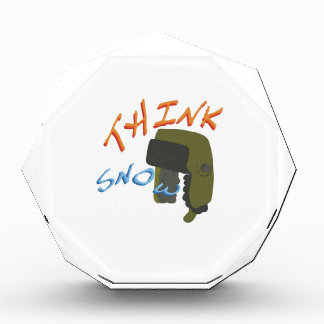 Think Ushanka Acrylic Award