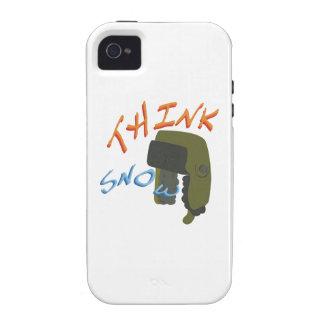 Think Ushanka Vibe iPhone 4 Cases