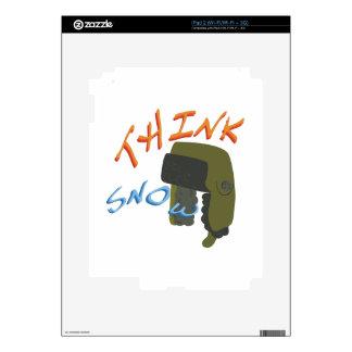 Think Ushanka Decal For The iPad 2