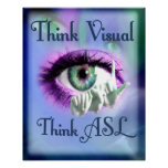 Think Visual 2012 poster