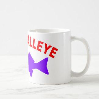 THINK WALLEYE COFFEE MUG