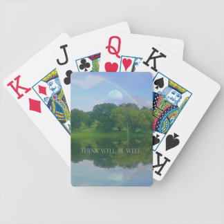Think Well Be Well Playing Cards