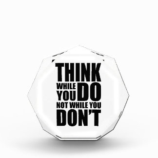 Think while you DO Award