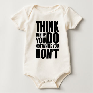 Think while you DO Baby Bodysuit
