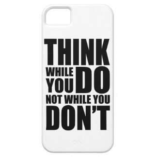 Think while you DO iPhone SE/5/5s Case