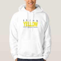 Think YELLOW Suicide Prevention Hoodie