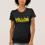 Think YELLOW Suicide Prevention Tshirts
