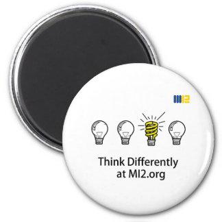 thinkDifferently-3-MI2 Imán Redondo 5 Cm