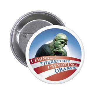 Thinker Pinback Buttons