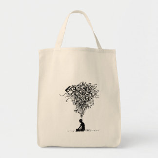 Thinker Canvas Bags