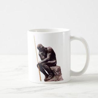 Thinker Cup Coffee Mug