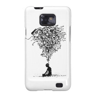 Thinker -Mate Case Galaxy S2 Cases