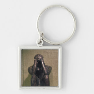 Thinker of Cernovoda, Hamangia Culture Keychain
