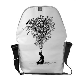 Thinker -  Rickshaw Messenger Bag