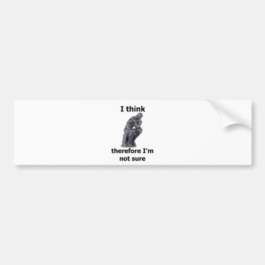 ThinkerWare Bumper Sticker