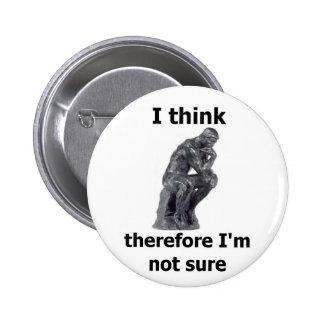 ThinkerWare Pinback Button