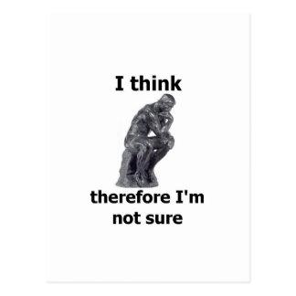 ThinkerWare Postcard