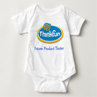 "ThinkFun ""Future Product Tester"" Infant Shirt"