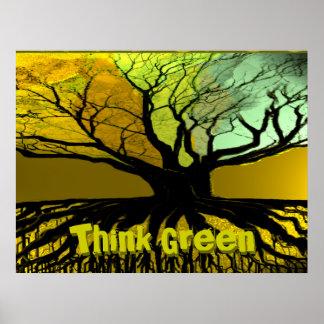 ThinkGreen4, Think Green, Think Green Print