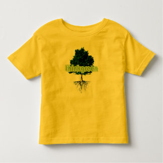 thinkgreen children's shirt