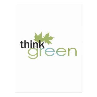ThinkGreen Postcard