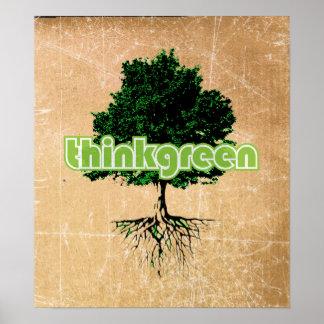thinkgreen poster