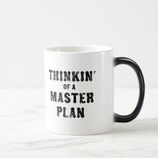 Thinkin' of a Master Plan Magic Mug