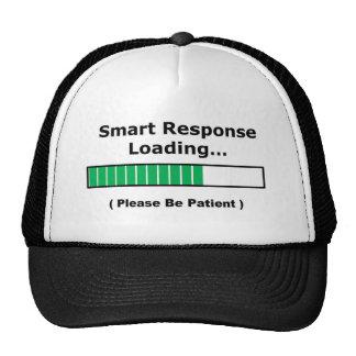 thinking 2 full trucker hat