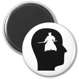 Thinking About Aikido 2 Inch Round Magnet