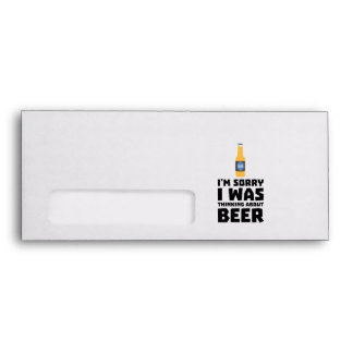 Thinking about Beer bottle Z860x Envelope