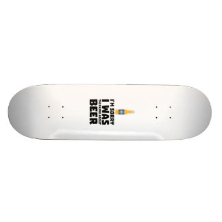 Thinking about Beer bottle Z860x Skateboard Deck