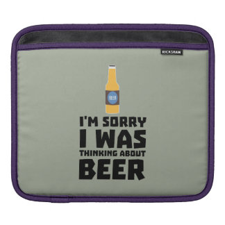 Thinking about Beer bottle Z860x Sleeve For iPads