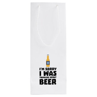 Thinking about Beer bottle Z860x Wine Gift Bag