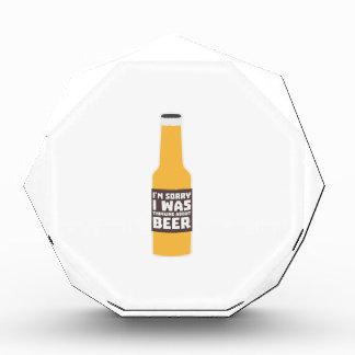 Thinking about Beer bottle Zjz0m Acrylic Award