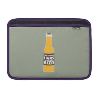 Thinking about Beer bottle Zjz0m MacBook Air Sleeve