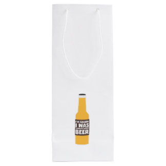 Thinking about Beer bottle Zjz0m Wine Gift Bag